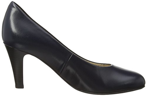 Gabor Shoes 5.21 Damen Geschlossen Pumps Blue (Dark Blue Leather)