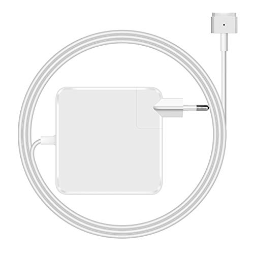 MacBook Air Ladekabel,45W Magsafe 2 Magnetic T-Form Netzteil Ladegerät für MacBook Air 13-Zoll-Retina-Display (nach Mitte 2012)