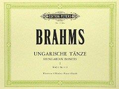 UNGARISCHE TAENZE 1 - arrangiert für Klavier 4händig [Noten / Sheetmusic] Komponist: BRAHMS JOHANNES