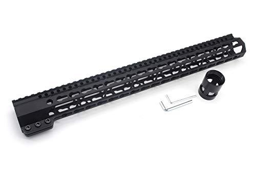 Trirock Taktischer Schlüsselmodell-Handschutz für AR15 M4 M16 mit Stahlhülsenmutter passend für .223/5.56 Gewehre