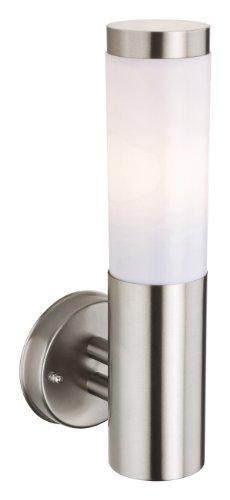 firstlight-plaza-e27-ip44-1-x-60-watt-stainless-steel-wall-light