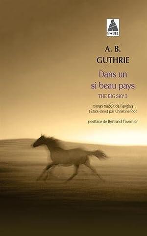 Bertrand Tavernier Livre - The Big Sky, Tome 3 : Dans