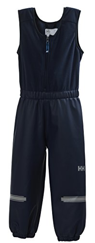 Helly Hansen Kinder K Helly PU Bib Wasserdichte Latzhose, Blau-(Evening Blue), 86/1