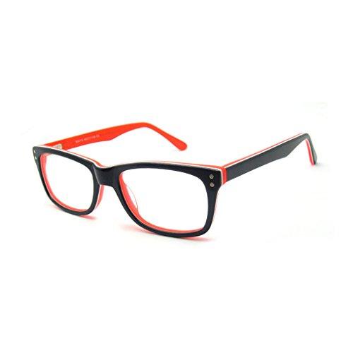 OCCI CHIARI Optische Brillen Rahmen Sonnenspiegel Shop wie Mode Brillen Rahmen mit Metall Dekoration und Federscharnier für Männer und Frauen
