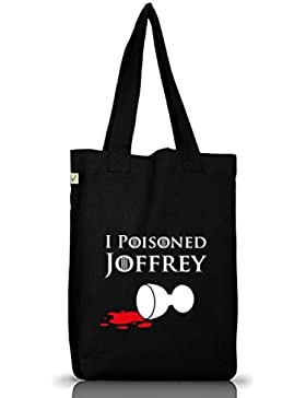 Shirtstreet24, I Poisoned Joffrey, Jutebeutel Stoff Tasche Earth Positive (ONE SIZE)