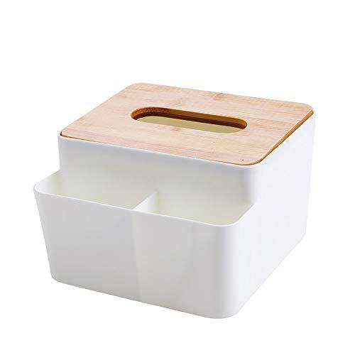 DOLDOA Taschentücherboxen Taschentuchbox Tücherbox Kosmetikbox Zuhause Büro Auto