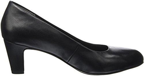 Tamaris 22429, Chaussures Femme À Talon Noir (uni Noir)