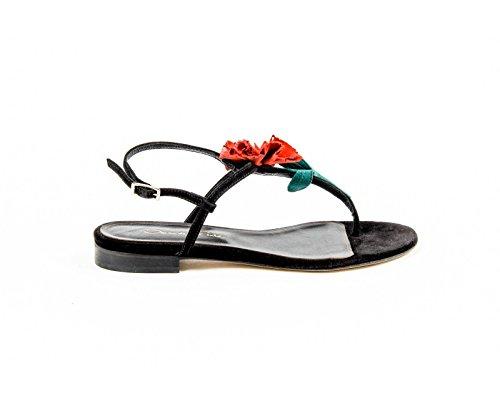 Oscar de la Renta Womens Slingback Sandal OSTRA S1604422 001 Black