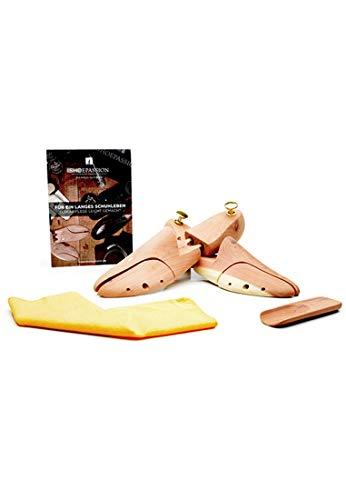 SHOEPASSION - Premium Schuhspanner aus 100{597f91ca5daca2f84bf56aeb4b6a28984f84a670cd54bfdf5b4e2f359a1dacbd} kanadischem Zederholz - Schuhspanner -, Farblos, 42/43
