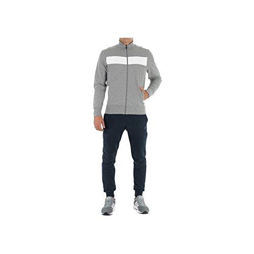 adidas Herren Wolljacke Trainingsanzug mehrfarbig grau 54 5f682a5c24