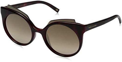 Marc Jacobs Damen MARC 105/S 7B N8S 53 Sonnenbrille, Red Havana/Brown Ss Brz,