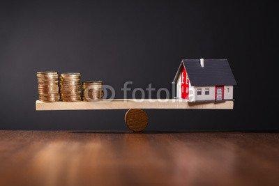 druck-shop24 Wunschmotiv: Solide Baufinanzierung #77936616 - Bild als Foto-Poster - 3:2-60 x 40 cm/40 x 60 cm