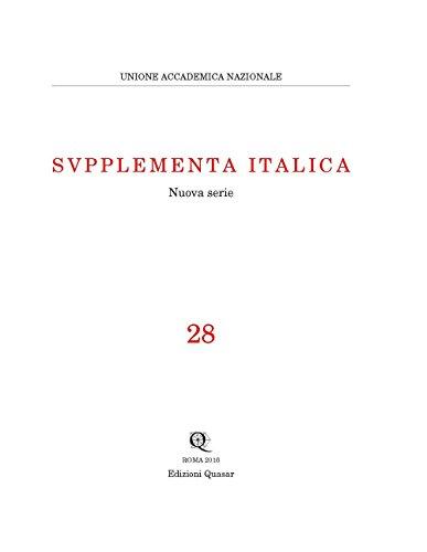 Supplementa Italica: 28