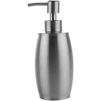 MAX HOME® Stainless Steel Soap/Liquid Dispenser/Lotion Dispenser Pump, for Kitchen or Bathroom (350Ml)