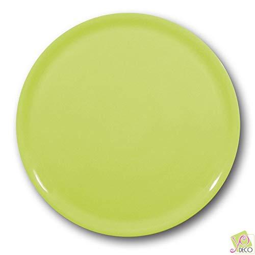 Lot de 6 assiettes à pizza Verte - D 31 cm - Napoli