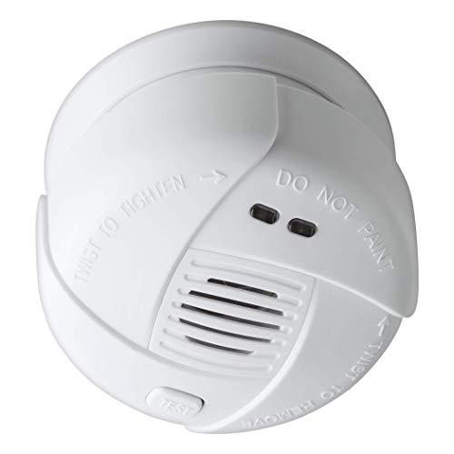SEBSON 10 Jahres Mini Rauchwarnmelder, DIN EN 14604, VDs 3131, fotoelektrischer Rauchmelder, Lithium...
