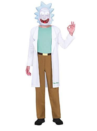 Jungen Rick Kostüm - Amscan Rick Rick & Morty Kostüm Jugendliche Jungen