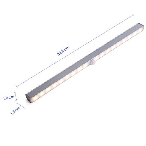 unigear schrank licht mit usb kabel wiederaufladbare led leiste schrankbeleuchtung mit. Black Bedroom Furniture Sets. Home Design Ideas
