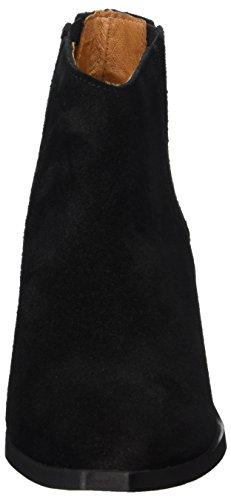 FEMME Damen Schwarz SFELENA Chelsea Elastic Boot DBL SELECTED Black Suede q5vxgdq7