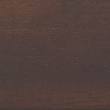 AmazonBasics - Wandgarderobe - 3 Standard Haken, Espresso