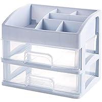 Xyanzi-zhiwujia Cosmetic Make , Table Desktop Stand Stand con Cajón Caja De Almacenamiento Estuche