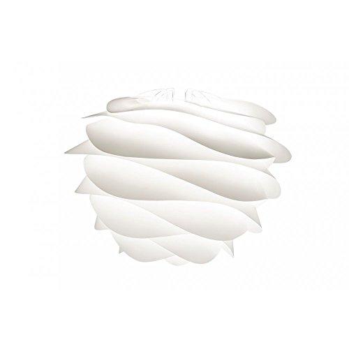 Vita carmina ampoule lampe suspension design blanc