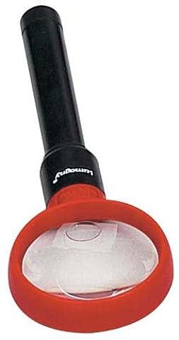Lumineux 17,8cm Loupe portable avec 2,5x et 5x Power, 5,1cm