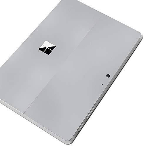 DolDer Microsoft Surface Go Skin Aufkleber Designfolie Sticker Schutzhaut - Grau