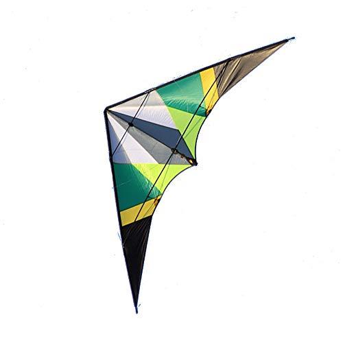 Unbekannt Lenkdrachen, Zweileitender Drachen, Zweileitender Drachen, Sportdrachen-Stuntgesangsgesangs-Donnerflügel-Erwachsendrachen (Farbe : ()