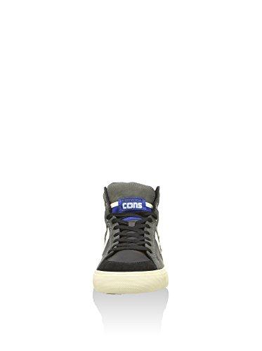 Converse, Pro Blaze Hi Leather/Suede Sneaker,Unisex Adulto Nero