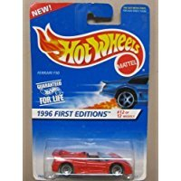 Hot Wheels Ferrari F50 - 1996 1st Editions #12 of 12 Cars Collector #377 by Hot Wheels