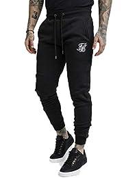 Sik Silk Pantalón de Chandal Basculador Reglán Negro e4e56514f431c