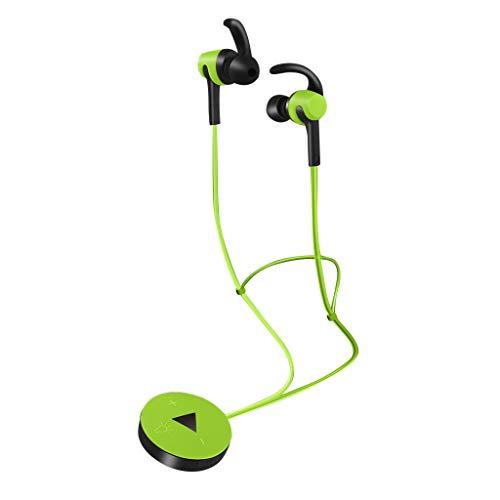 Bluetooth kopfhorer in Ear Kopfhörer Leuchtender Kopfhörer Florescence Bluetooth 4.2 Headset (Grün)