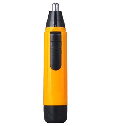 LL-Elektrische Nase Trimmer Waschbar Augenbraue Bart Ohr Haar Trimmer Nase Clipper Rasierer Grooming Werkzeuge Für Männer Erwachsene , yellow