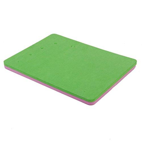 tmodd 5-Loch-Fondant Zucker Blumen, Modellier Schaumstoff Pad Matte zufällige Farbe (Zucker-schaum)