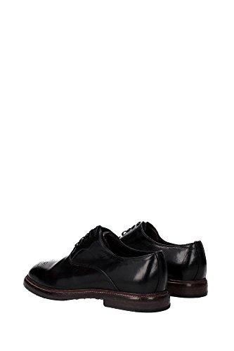 A20021A182880999 Dolce&Gabbana Derby Homme Cuir Noir Noir
