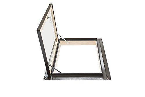 Lucernario per tetto - linea BEST - apertura libro in alluminio...