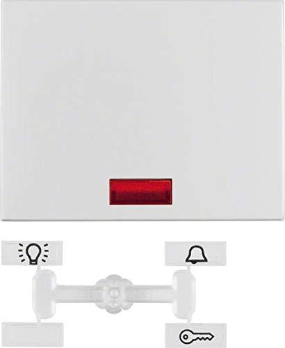 Hager 14157003 Interruptor de luz Aluminio - Interruptores de luz (Aluminio, Aluminio,...