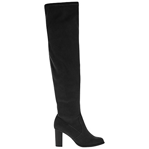 Marks & Spencer T028769 M&S Collection Block Heel Over the Knee High...