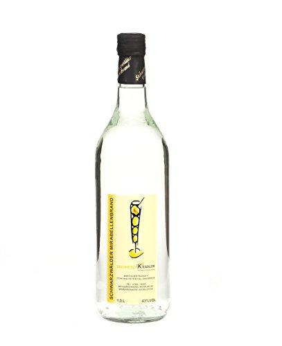 1 Liter Mirabellenbrand 43%vol - Brennerei Keßler