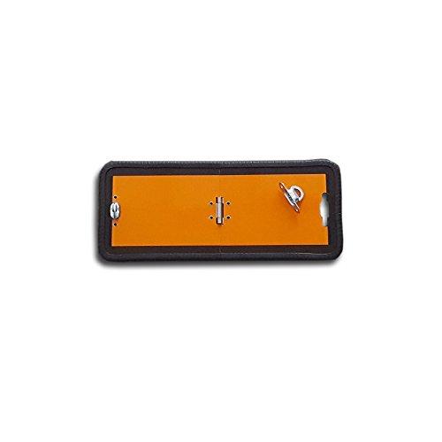 ADR Warntafel Tafel klappbar 300x120 mm Warnschild Schild Gefahrgut Orange GGVS