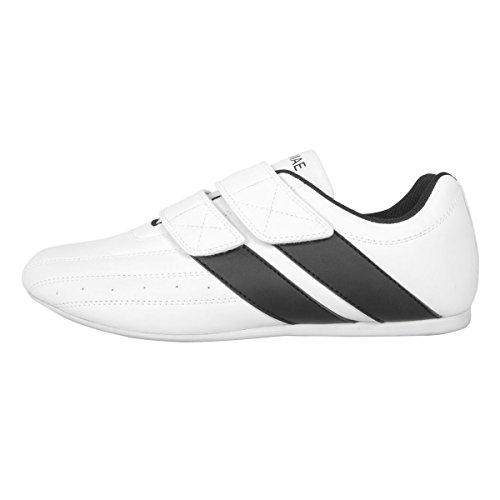 FujiMae Taekwondo–Schuh Double Power. Klettverschluss. Weiß
