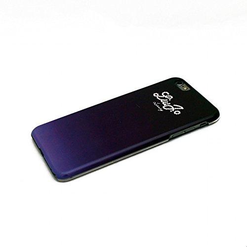 LIU-JO LJ6PBLINGB Cover Lucida per Iphone 6 Plus , Originale Serie Lucid Hard Swarovski, Blu