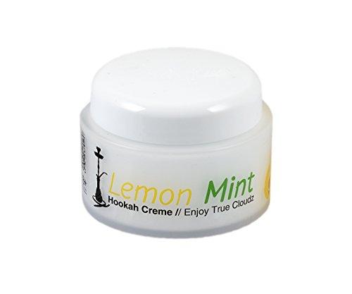 True Cloudz Lemon Mint, 75g [Shisha Hookah Creme als Tabakersatz]