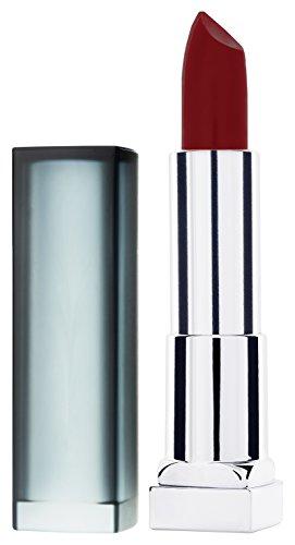 Maybelline Color Sensational Creamy Matte Lippenstift Nr. 970 Daring Ruby, verführerische Farbe mit mattem Finish, feuchtigkeitsspendend, 4,4 g