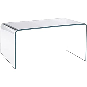 ACRYLIC COFFEE TABLE   12mm Clear Acrylic, Diamond Polished Edges, British  Made