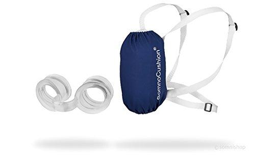 Anti-Schnarch-Rucksack SomnoCushion und Nasenspreizer Somnipax breathe - effektive Schnarchstopper - eine gute Alternative zu Schnarch-Schienen, Schnarch-Mundstücken und Nasendilatatoren, Nasenklammern, Nasenpflastern und Anti-Schnarch-Ringen (SomniShop Set Basic 100)