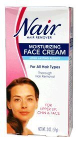 nair-hair-removal-cream-for-face-with-special-moisturizers-2-ounce-bottles-pack-of-4-by-nair