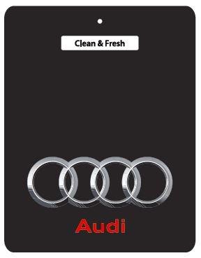 5 per fronte £10!, design AUDI, colore: nero, Ali Air Freshener-Deodorante per auto, 80, 90, 100, A2, A3, A4, A6, A8, Coupe, Quattro, RS4, S2, S3, S4/S6, S8, ALL AUDI TT, RS