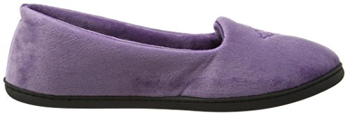 Dearfoams Closed Back, Chaussons Mules Femme Purple (Smokey Purple)